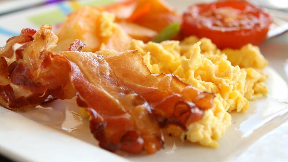 EGGERØRE - LETTVINT LØSNING: Skal du servere eggerøre til mange? Bruk dette trikset! Foto: JJAVA - Fotolia