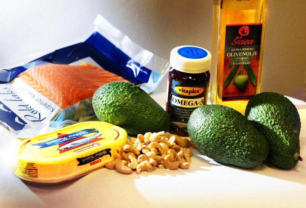 JA MAT: Sunne fettyper, grønnsaker og fisk er gode eksempler på hva du bør gå for dersom du vil senke kolesterolet. Foto: Aftenposten