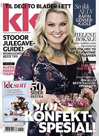 NYTT KK: KK nr. 47 er i salg fra fredag 20. november. Foto: Astrid Waller