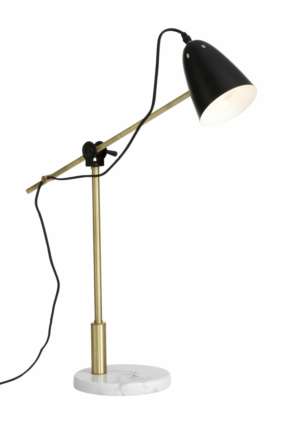 «Preston» bordlampe (kr 700, ellos.no). Foto: Produsenten