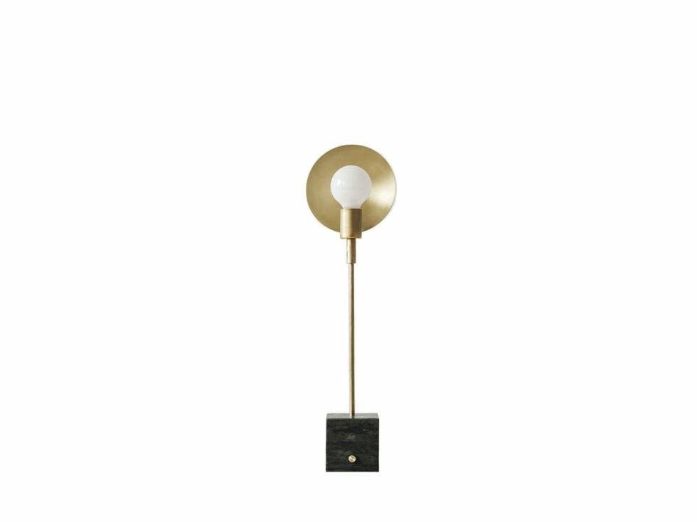 «Orbit» bordlampe fra Workstead (kr 9845, artilleriet.se).  Foto: Produsente