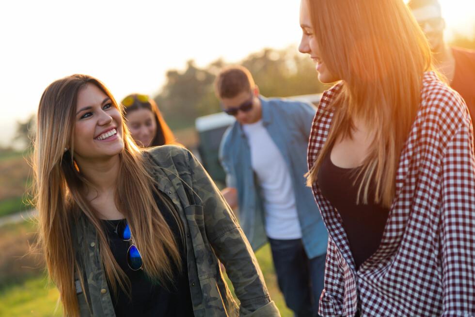 IKKE UVANLIG: Eksperten forteller at de aller fleste av oss sammenligner oss selv med andre, og at det ikke alltid trenger å være en negativ ting.  Foto: nenetus - Fotolia