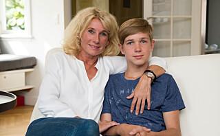 Frederik var bare 8 år da han fikk blodpropp i hjernen