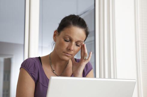 FORSKJELLIG: Ikke alle forstår at fatigue er en annen type trøtthet enn den vi alle kjenner på i blant.  Foto: Scanpix