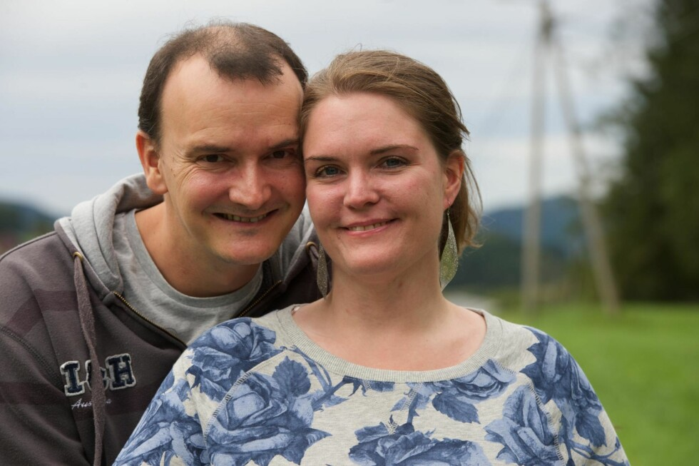 <strong>STØTTE:</strong> Ingrids samboer, Carl-André Hjelvik, har støttet henne hele veien og er glad på hennes vegne, for det flotte resultatet.
