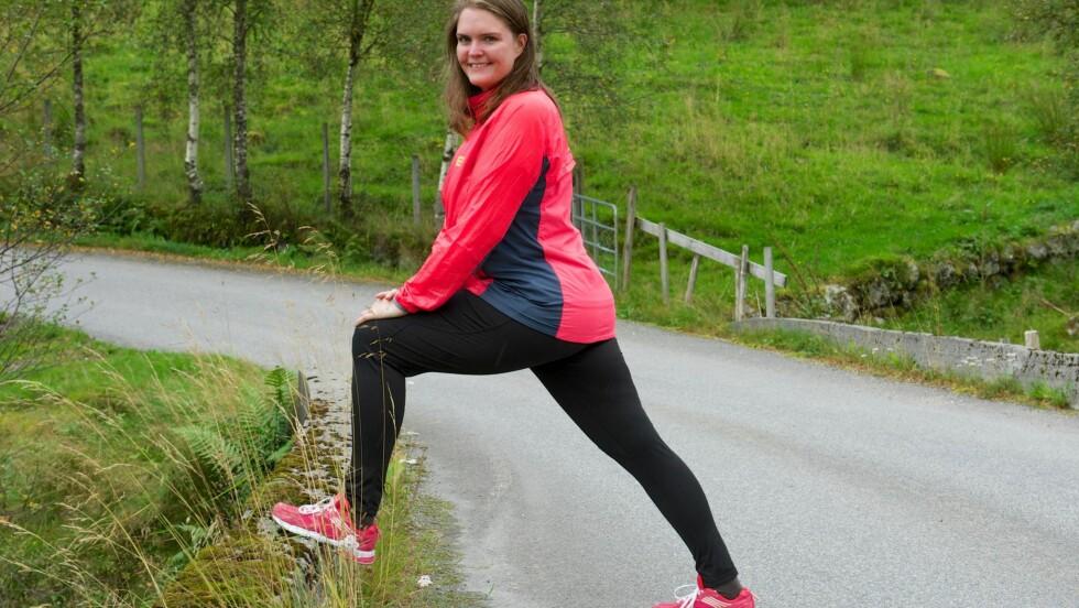 SLANKET SEG 60 KG: Etter at Ingrid gikk ned så mye i vekt, ble det mye lettere å bevege seg. Og det gjør hun, så ofte som mulig!