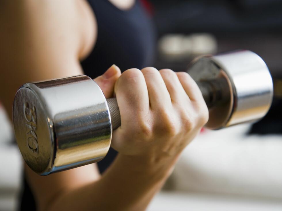 OPPRETTHOLDE FORMEN: Dersom du ønsker å opprettholde en god fysisk form anbefales det at du trener styrke og kondisjon jevnlig.  Foto: Fotolia