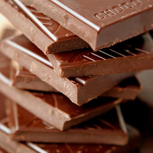 KAN UTLØSE MIGRENE: Sjokolade virker for noen å være med på å utløse migrene.  Foto: Scanpix