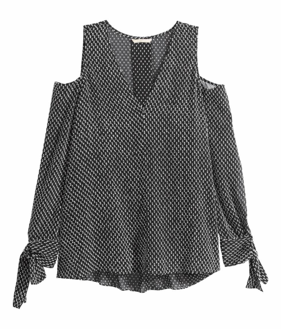 Bluse fra H&M, kr 399. Foto: Produsenten