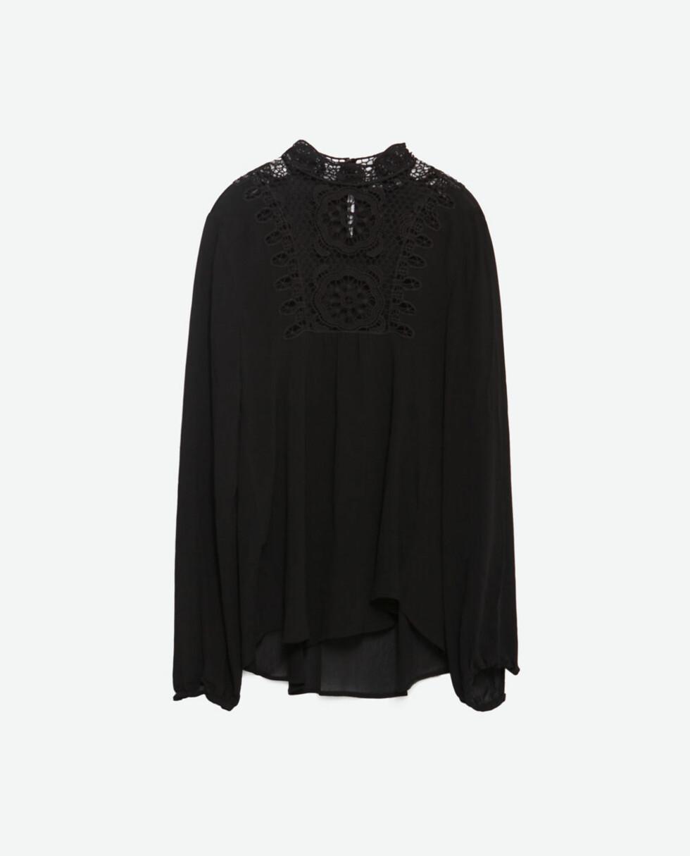 Bluse fra Zara, kr 699. Foto: Produsenten
