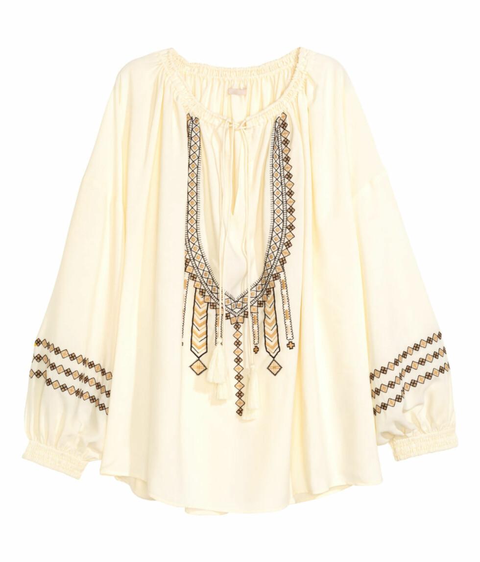 Bluse fra H&M, kr 499. Foto: Produsenten