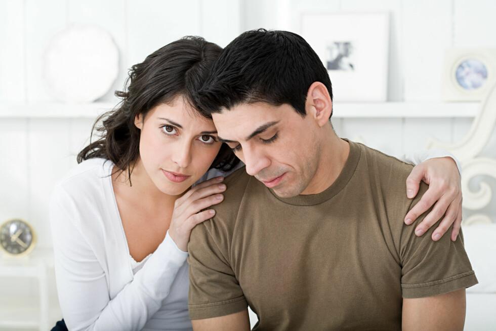 PROBLEMER: Går det dårlig i forholdet vil en familieforøkelse sjeldent være den beste løsningen. Foto: Scanpix/NTB