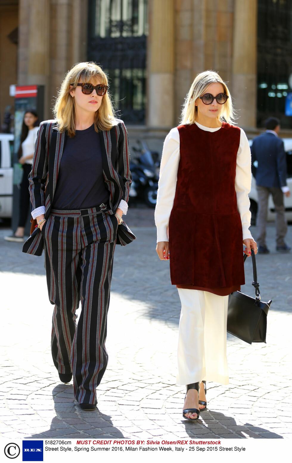 Annabel Rosendahl og Celine Aagaard. Foto: Rex Features