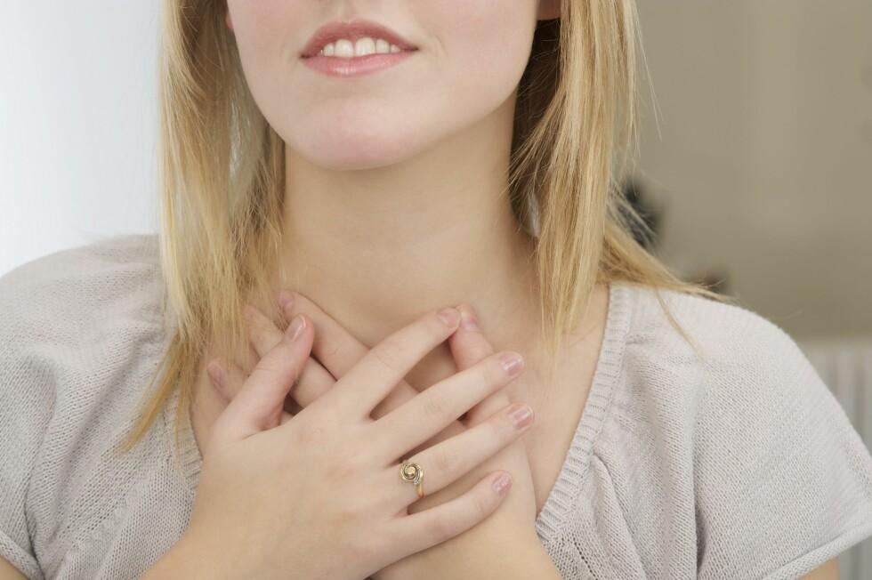 <strong>STRAMME MUSKLER:</strong> Ved et angstanfall kan musklene i brystet bli sterkt belastet slik at det oppstår smerter og kramper. Foto: © N. Aubrier
