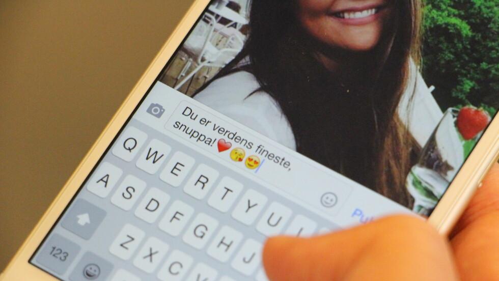«HJERTER» OG «LIKES»: Det er ingen skam å være raus med ros og hjerte-emojis på sosiale medier. Tvert imot, det kan vise seg å være nyttigere enn du kanskje tror.  Foto: KK