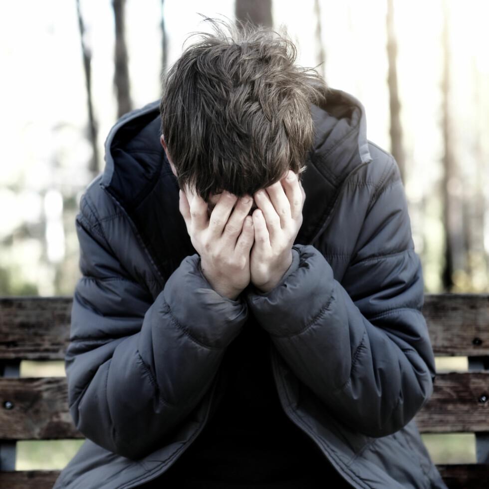 BRA Å GRÅTE: Gråt reduserer stress og spenning i kroppen, og bidrar til at vi kan hente oss fysiologisk lettere inn etter at vi har hatt en følelsesmessig påkjenning.  Foto: Sabphoto - Fotolia