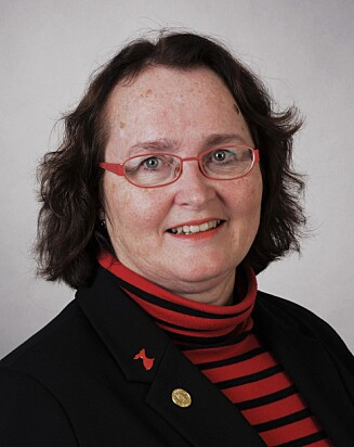 Eva Gerdts, professor i hjertesykdommer ved Universitetet i Bergen.  Foto: Jørgen Barth