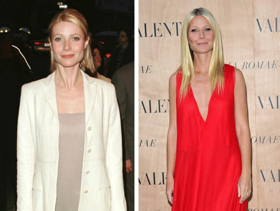 1998 OG 2015: 17 å skiller disse bildene av Gwyneth Paltrow (42). Foto: Scanpix