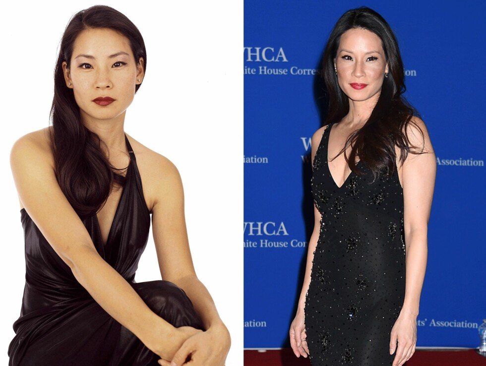 1999 OG 2015: 16 år skiller disse bildene av Lucy Liu. Foto: Scanpix