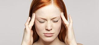 Hodepine kan skyldes jernmangel