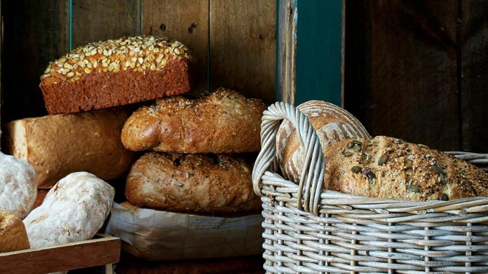 HJEMMEBAKT BRØD: I denne artikkelen finner du oppskrifter på brød, også for deg som for eksempel ikke tåler gluten.  Foto: Ed O`Riley/Bulls