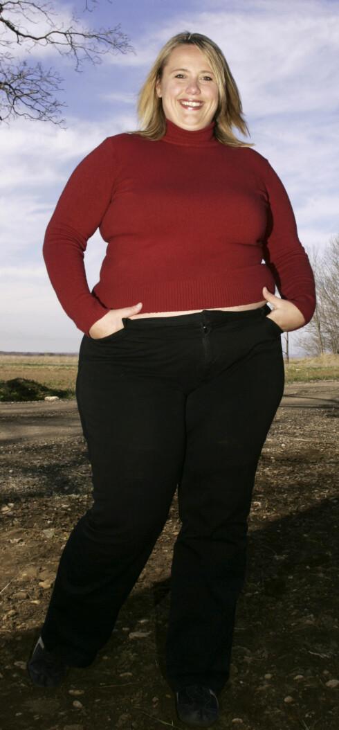 SLANKEKRIGEN: Det er 10 år og 60 kilo siden Linda deltok på TV Norges slankeprogram.  Foto: Se og Hør