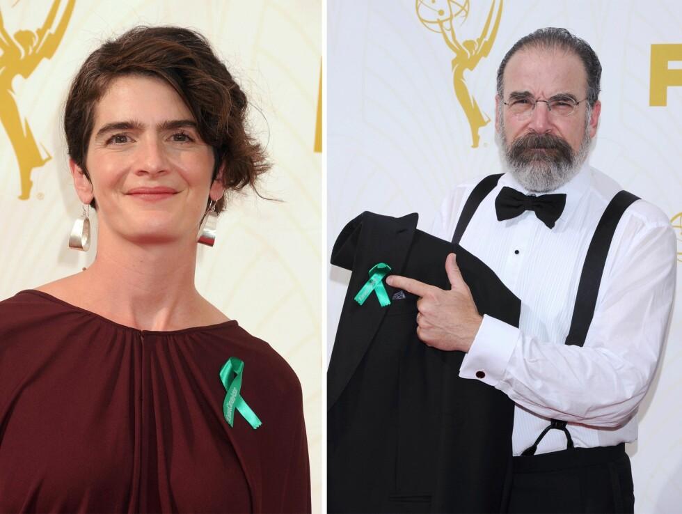 Gaby Hoffmann (33) og Mandy Patinkin (62). Foto: Scanpix