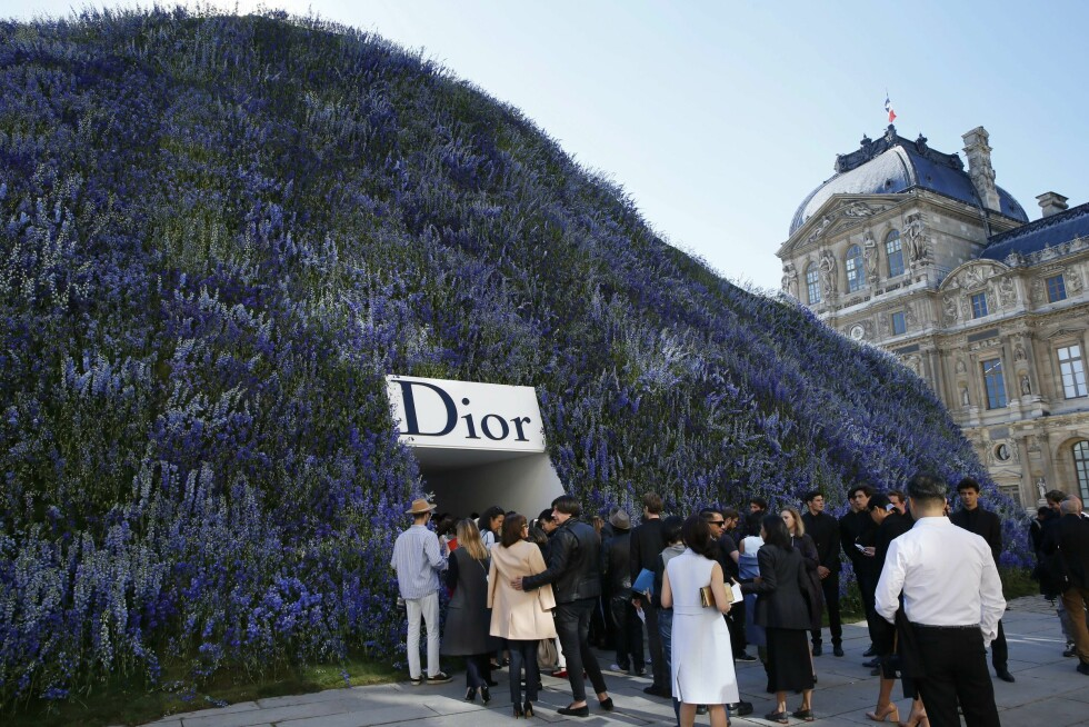 Dior SS16. Foto: Afp