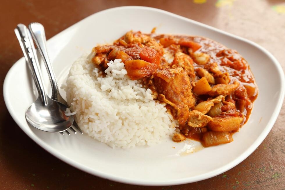 SPISER MER ENN DU TROR: Eksperten forteller at det er mange som spiser større porsjoner enn det de er klar over.  Foto: geargodz - Fotolia