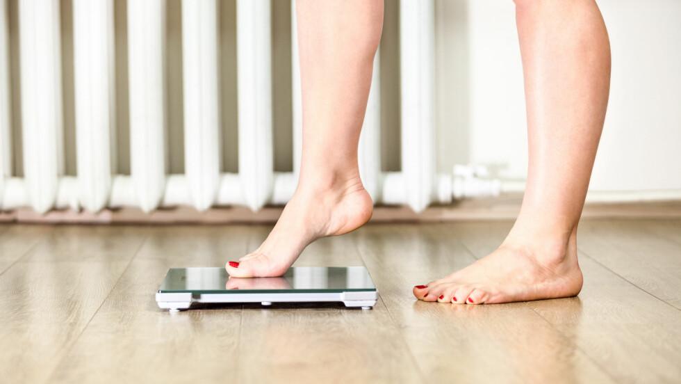 SLANKETABBER: Ønsker du å gå ned i vekt? Da bør du være obs på noen av de vanligste slanketabbene.  Foto: antiksu - Fotolia