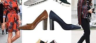 Støvletter, sneakers og lårhøye boots