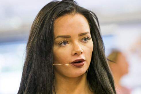 INNGREPENE: Sophie Elise har alltid vært åpen om at hun har operert nesen og brystene sine.  Foto: NTB scanpix