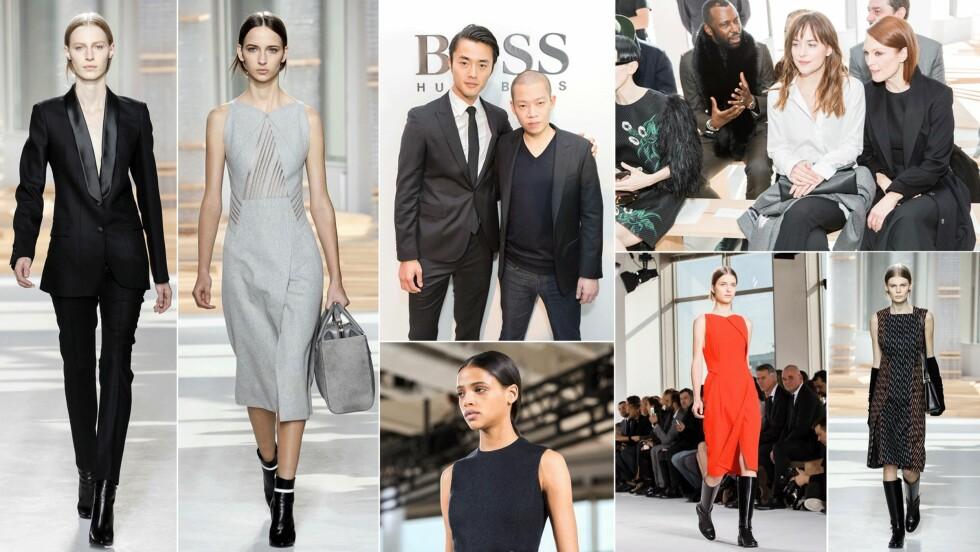 HELT NYTT I ÅR: For første gang kommer «BOSS Womenswear Spring/Summer 2016 runway show» til å filmes med et 360 graders kamera. Og visning kan du se her! Foto: Scanpix