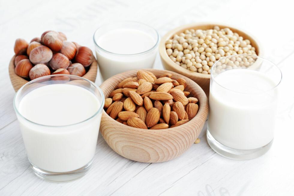 MANDELMELK: Det er ikke gunstig å drikke mandelmelk etter trening da denne typen melk ikke inneholder det man kaller fullverdig protein.  Foto: matka_Wariatka - Fotolia