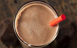 Bytt ut proteinshaken med sjokolademelk etter trening