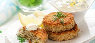 Bytt ut kjøttet med mager fisk