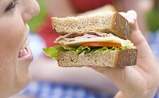 Hiver du alltid i deg maten eller spiser på farten?