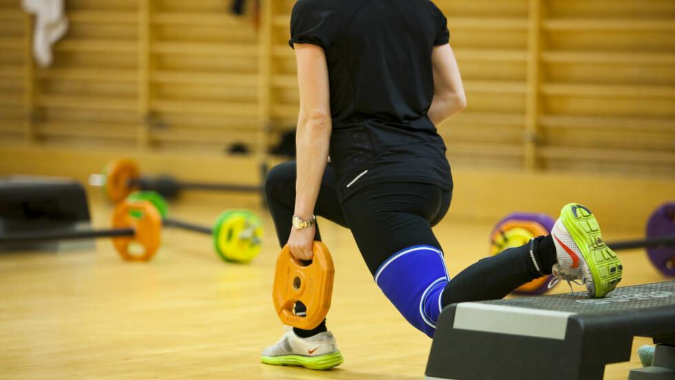 FORBRENNING: Dersom du er ute etter å forbrenne mest mulig så kan det ha noe å si hva slags type trening du velger. Spørsmålet er om du vil forbrenne kalorier eller fett? Foto: Per Ervland
