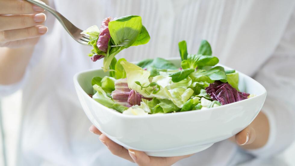 SUNT? Er du overopptatt av å spise sunt, trene og leve det perfekte, harmoniske liv? Ifølge kritikerne er det ikke så sunt som du kanskje tror.  Foto: Fotolia