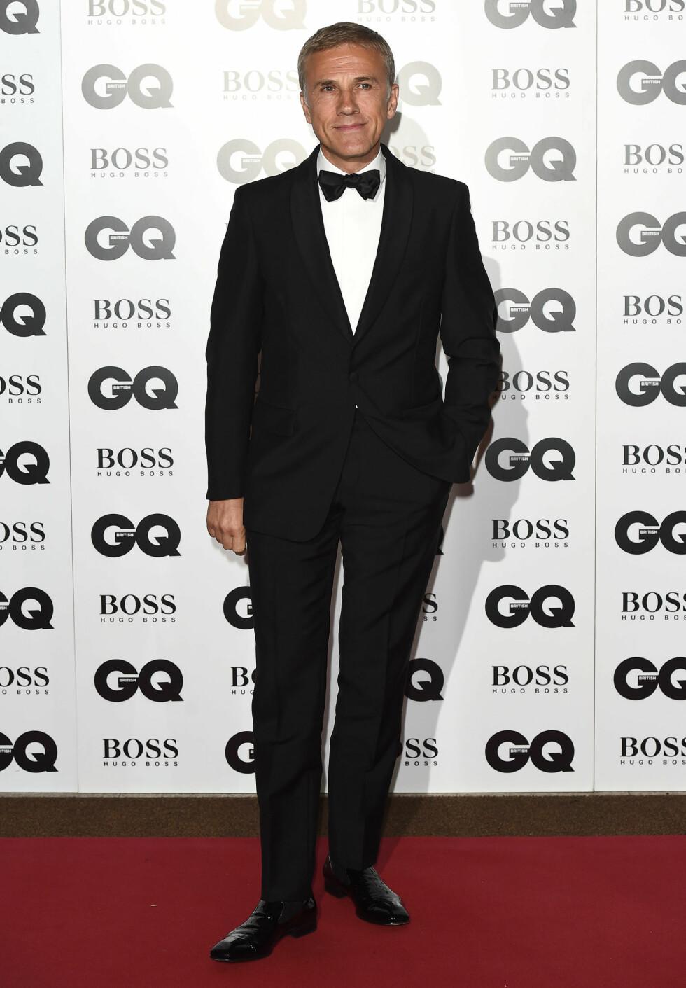 GQ AWARDS: Christoph Waltz (58). Foto: Xposure