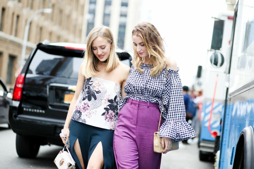 Sarah Mikaela og Noor de Groot Foto: Abaca