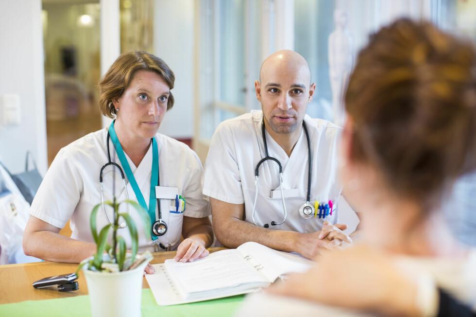 FRUKTBARHETSSJEKK: For kvinner omfatter en fruktbarhetssjekk en blodprøve, en ultralydundesøkelse og kartlegging av risikofaktorer. Foto: NTB Scanpix