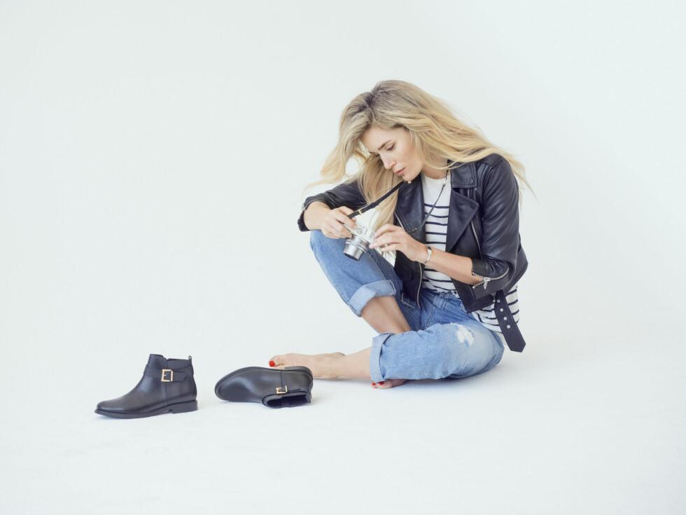 NY KOLLEKSJON FOR BIANCO: Kanskje er dette Camillas favoritter? Foto: Svein Bringsdal