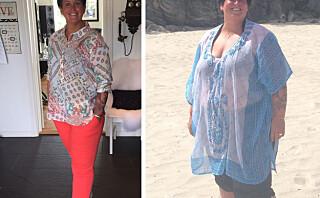 Lone (39) veide 150 kg: - Jeg var livredd for å dø av overvekt