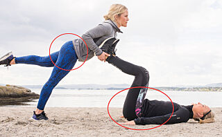 5 øvelser som strammer rumpe, bein og mage
