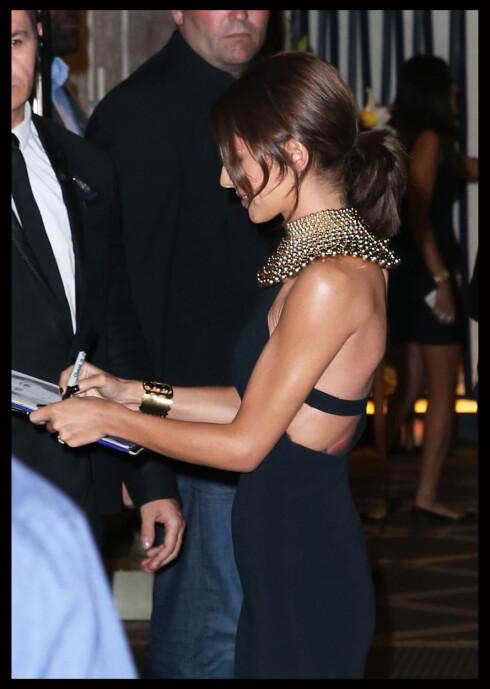 VELDIG SLANK: Her er Cheryl avbildet under lanseringen av sin nye parfyme i London i midten av august.  Foto: Polaris