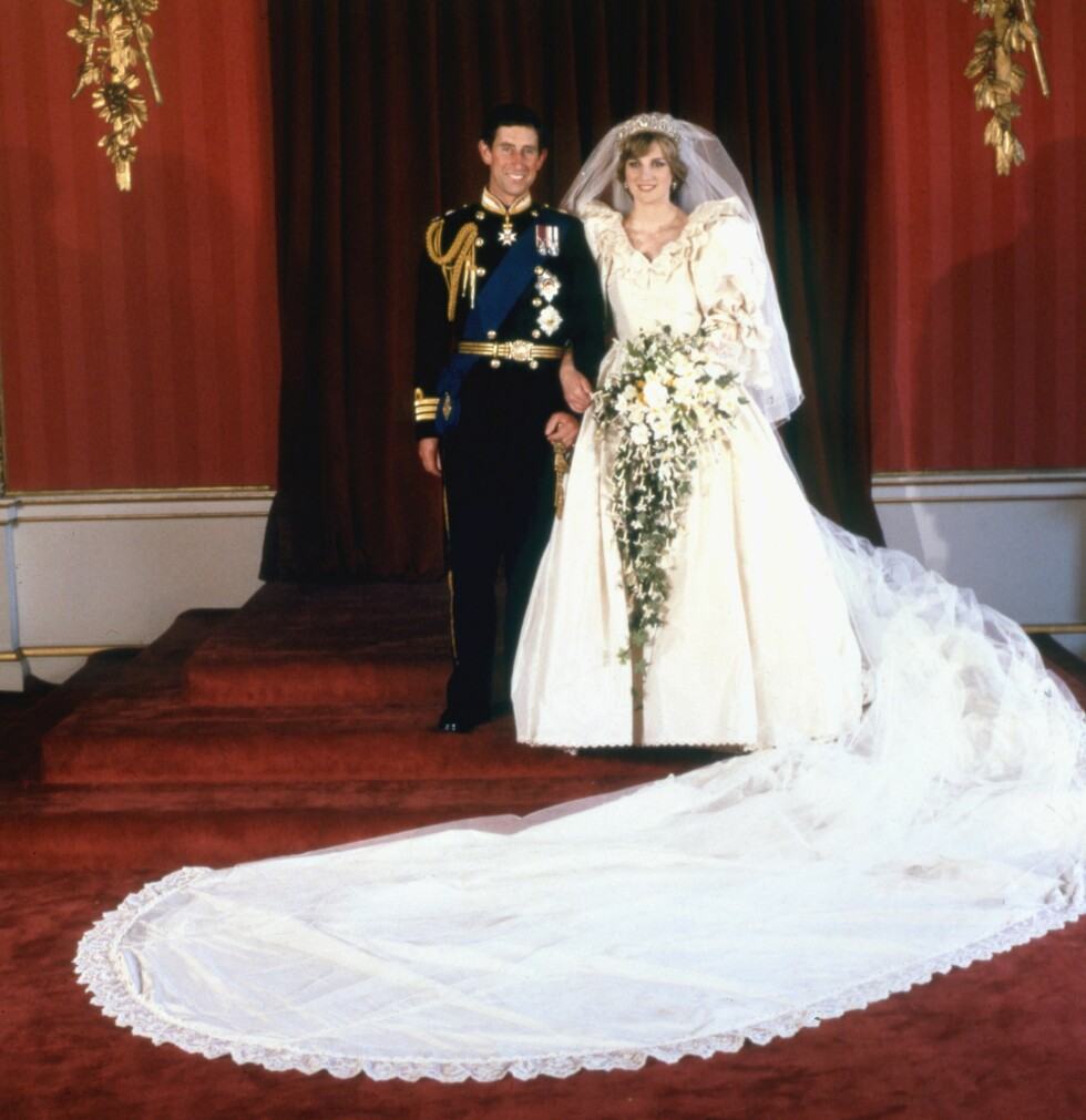 1981: Prins Charles og Diana gifter seg. Foto: Topfoto