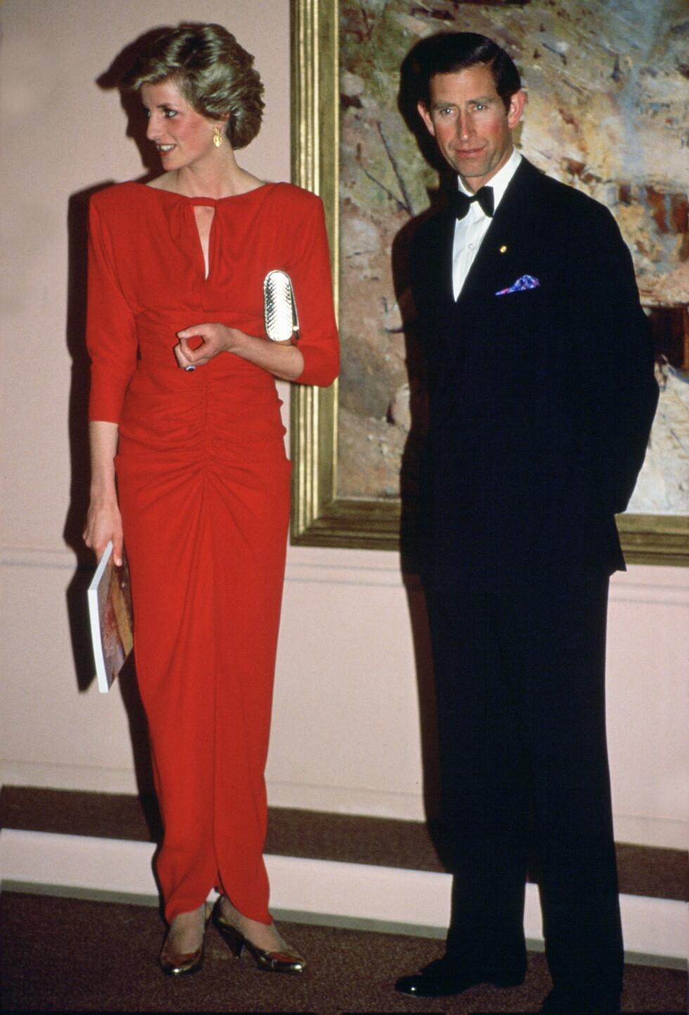 Prinsesse Diana og prins Charles. Foto: Ap