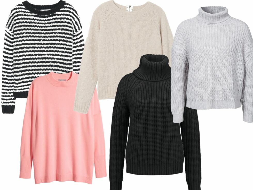 10 gensere til under tusenlappen