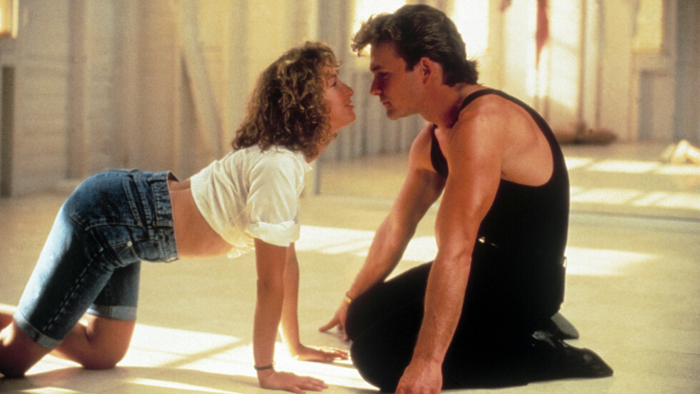 DIRTY DANCING: Jennifer Grey og Patrick Swayze spilte mot hverandre i suksessfilmen fra 80-tallet. Foto: Heritage